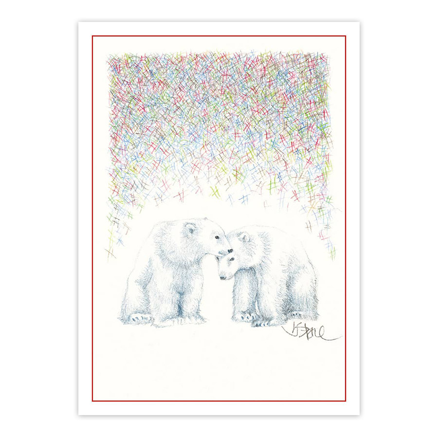 seasons light blank note cards - Note Cards